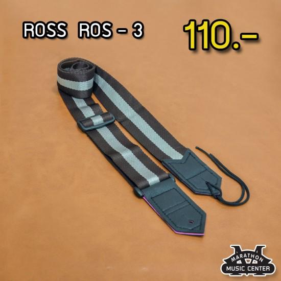 สายสะพายกีตาร์ ROSS - ROS 3