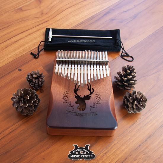 Kalimba 17 Keys Cega เว้า
