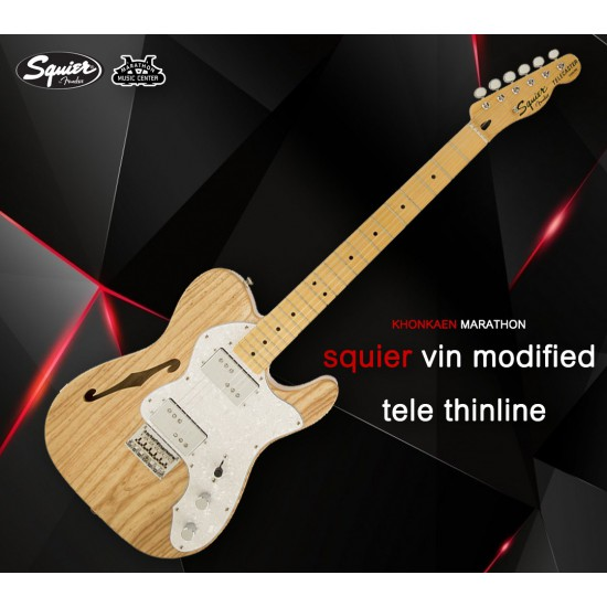 Squier's Vintage Modified '72 Telecaster Thinline