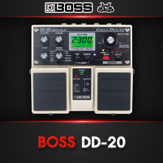 เอฟเฟกกีตาร์ BOSS DD20