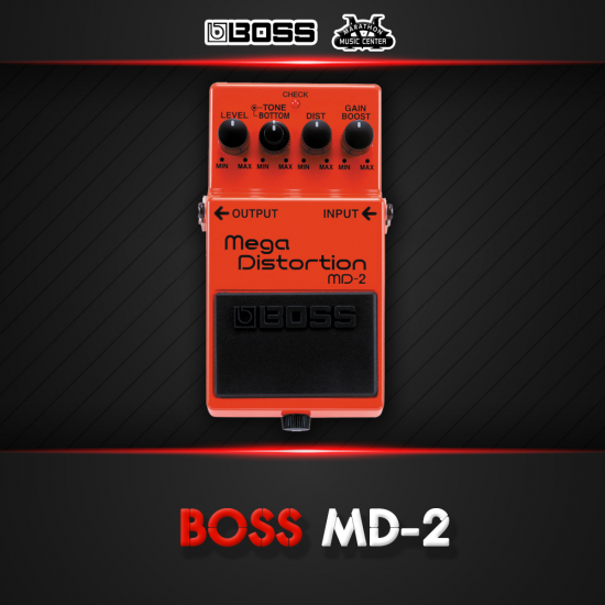 เอฟเฟกกีตาร์ BOSS MD2
