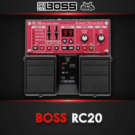 เอฟเฟกกีตาร์ BOSS RC20